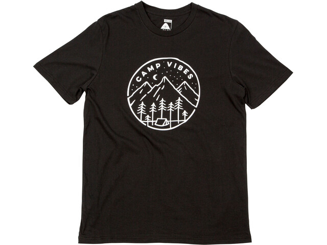 POLER Slumber t-shirt Heren zwart